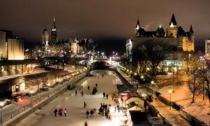 Ottawa under snow